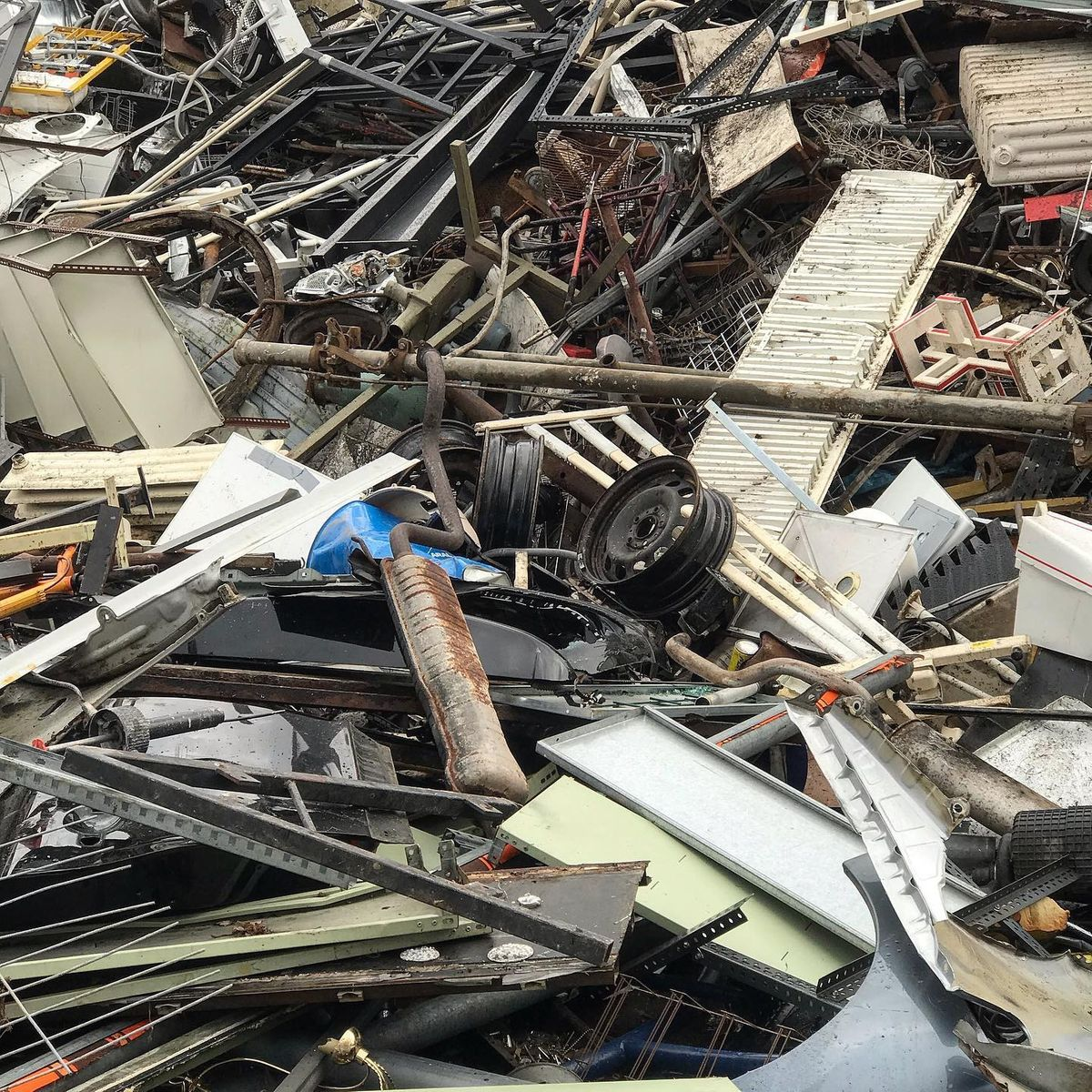 Harms Recycling Schrott Metalle